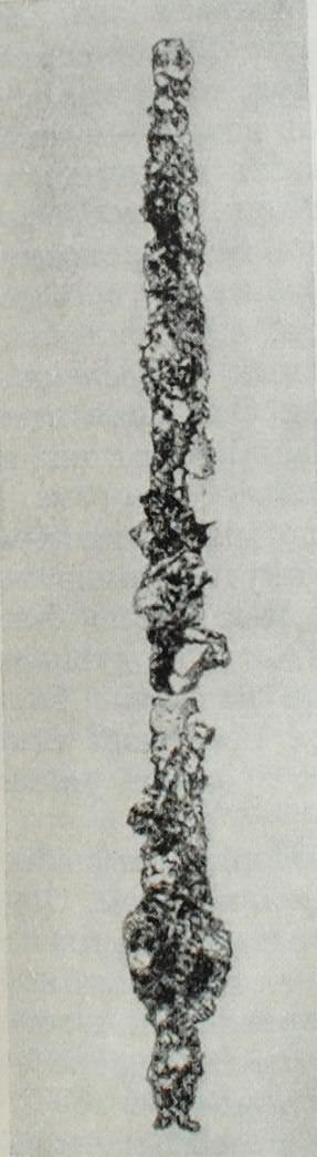 Железный меч из Керамика (покрыт коррозией)