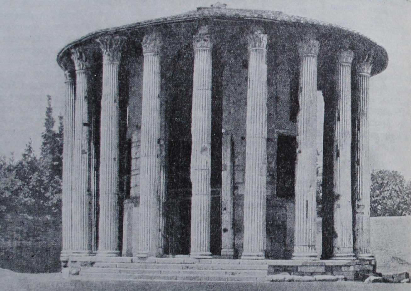 Храм Весты в Риме. Вторая половина I в. до н.э.