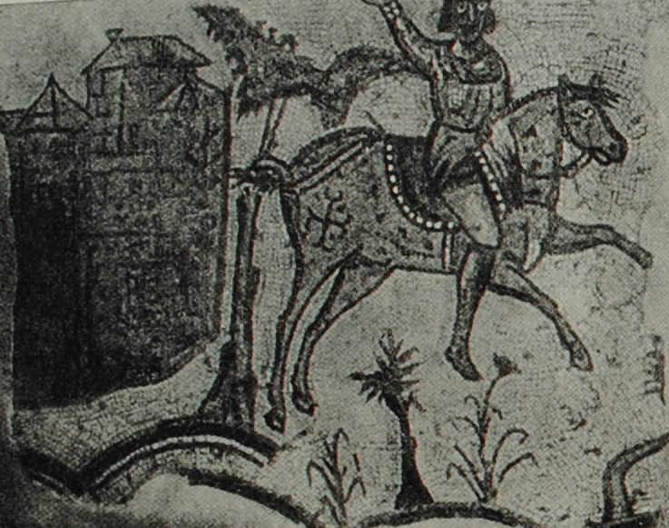 Хозяин поместья. Мозаика  IV в. н.э. из Карфагена.
