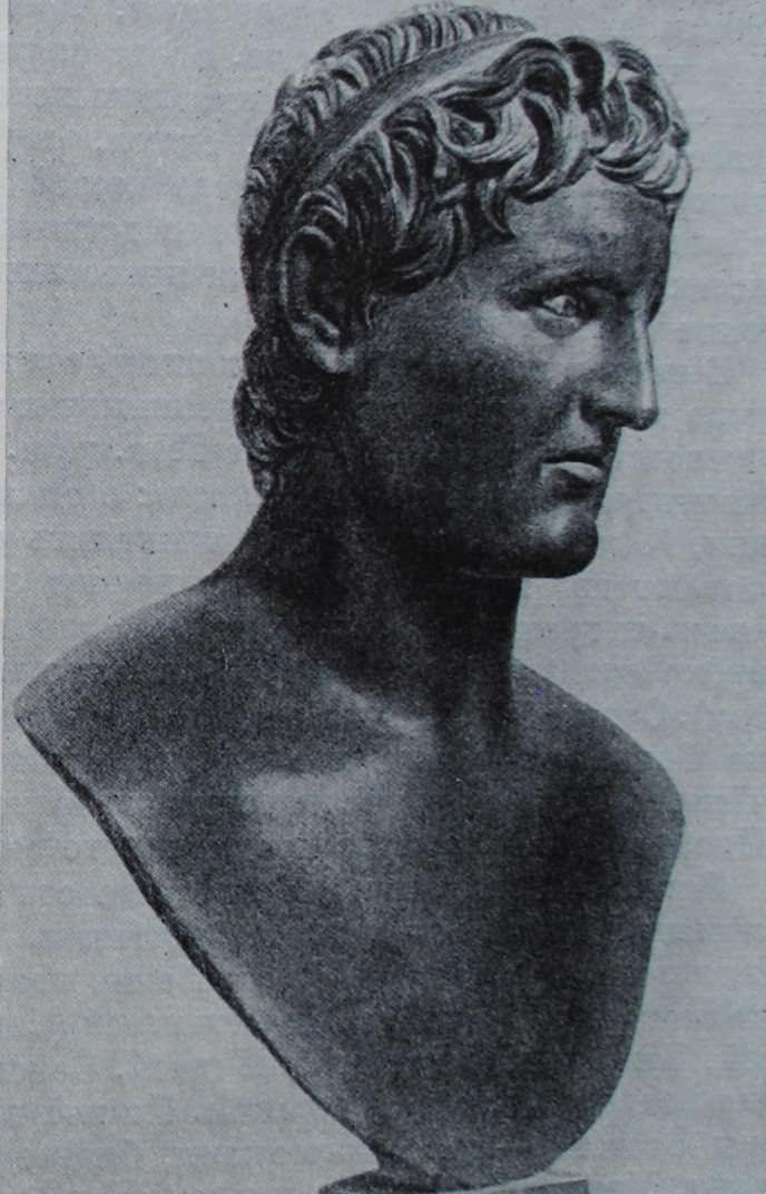 Селевк I Никатор. Скульптура начала III в. до н.э. Бронза.