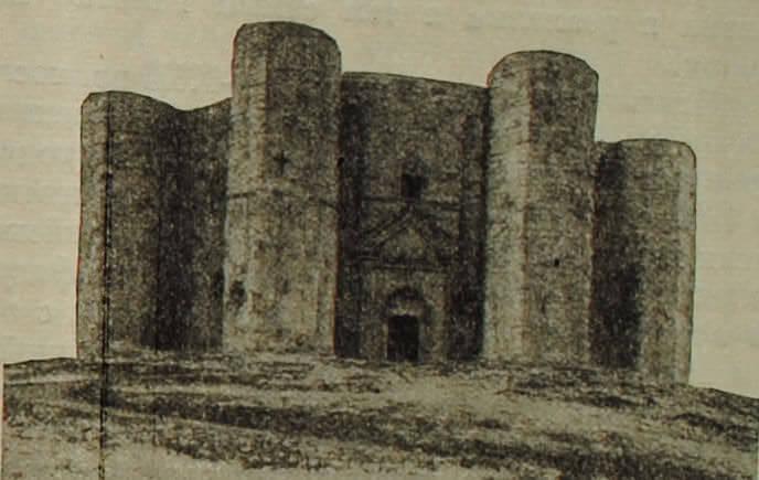 Итальянский средневековый замок в Кастель дель Монте (Апулия). XIII в.