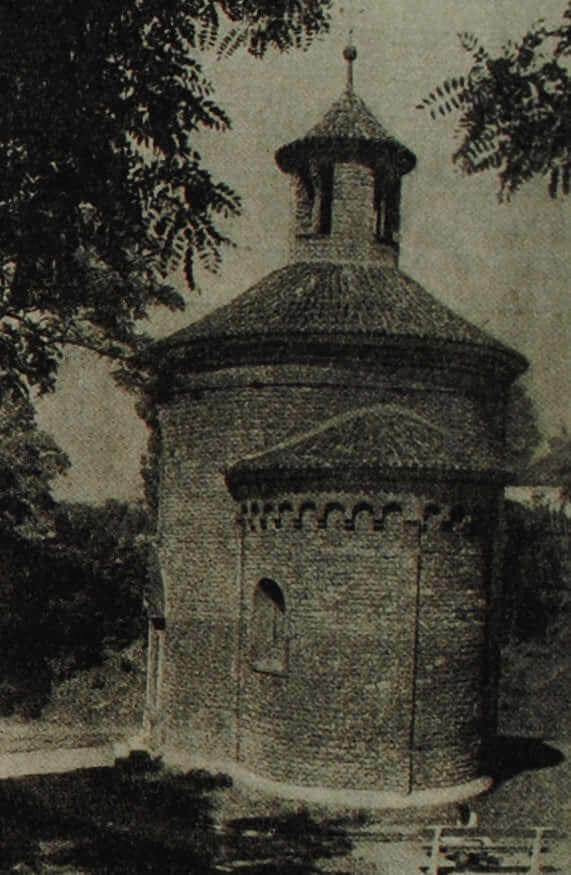 Церковь св. Мартина в Пражском Вышеграде. Около 1100 г.