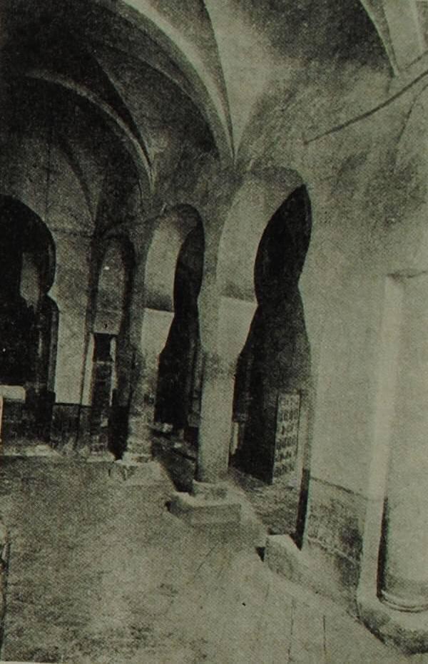 Внутренний вид церкви в монастыре Сан Миллан де ла Коголла (Кастилия). X в.