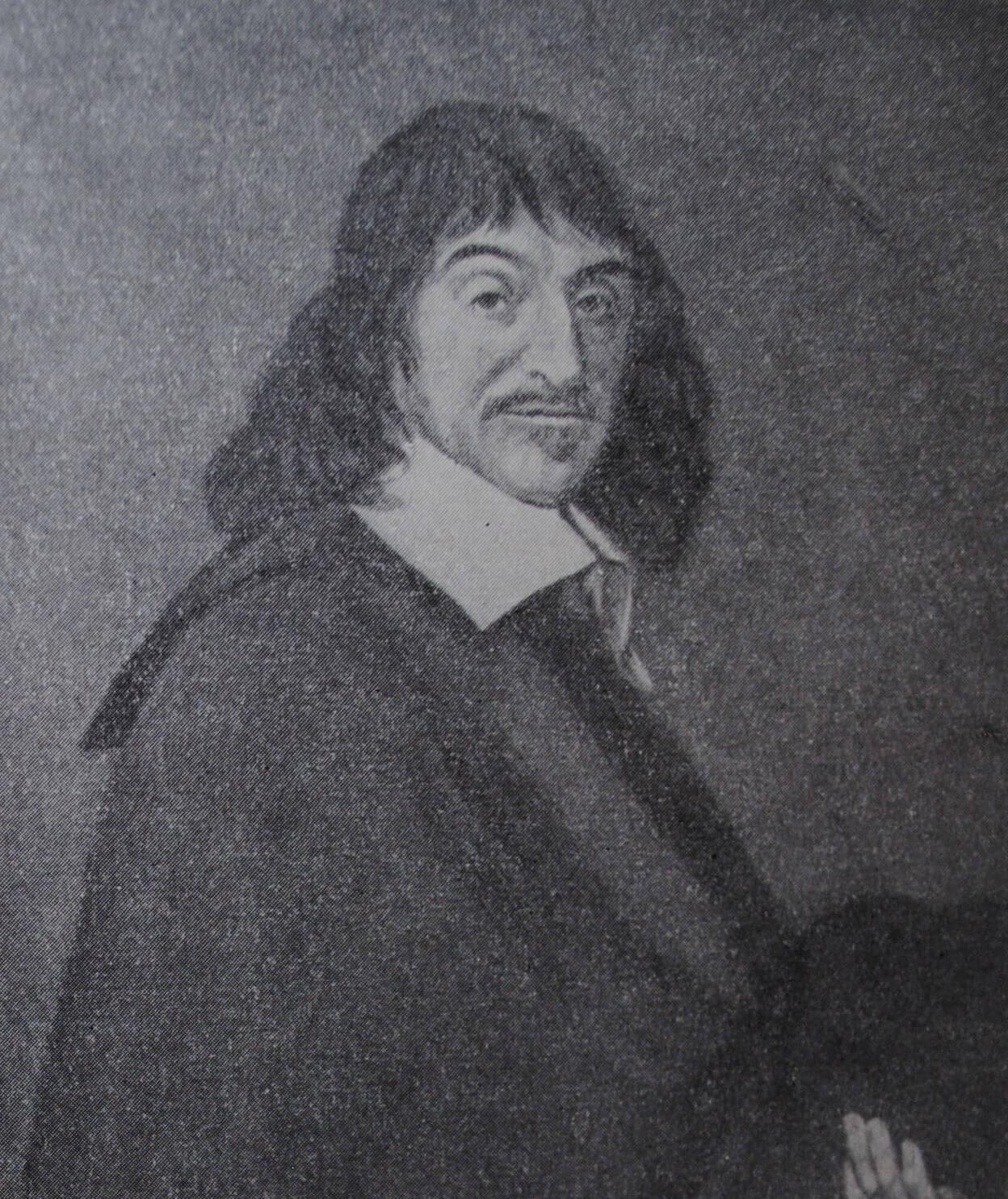 Ренэ Декарт. Портрет работы Франса Гальса. 1649 г.
