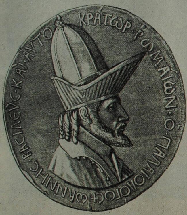 Иоанн VIII Палеолог. Медаль работы Витторио ПИзано. 1438 - 1439 гг. Медь.