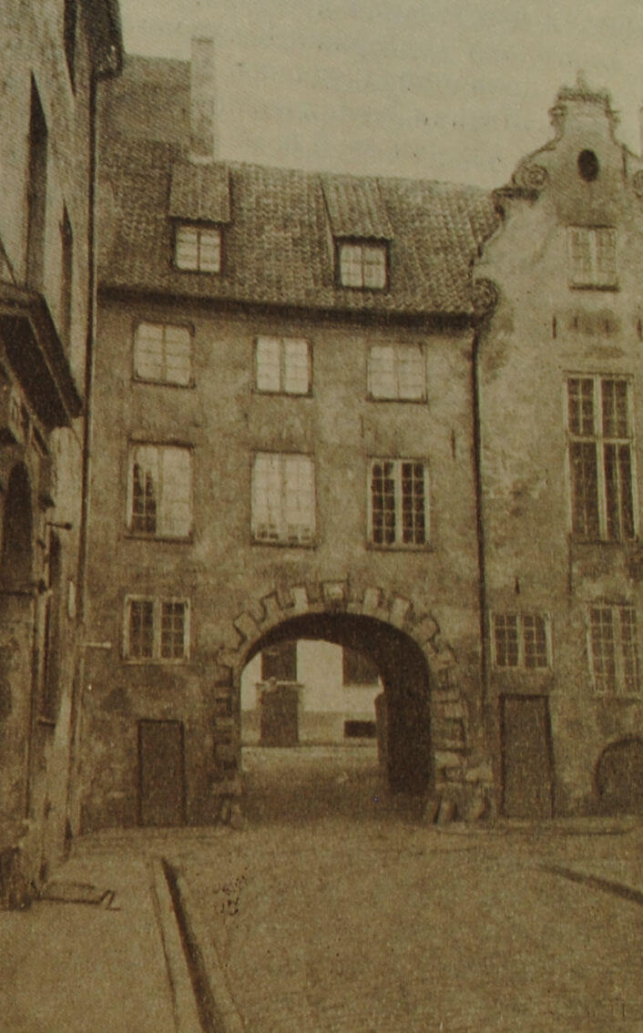 """""""Шведские ворота"""" на улице Торня в Риге. XVI в."""