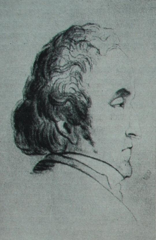 Шарль Фурье. Рисунок Вэйрона.
