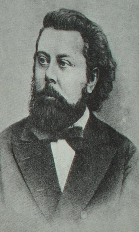 Модест Петрович Мусоргский. Фотография.