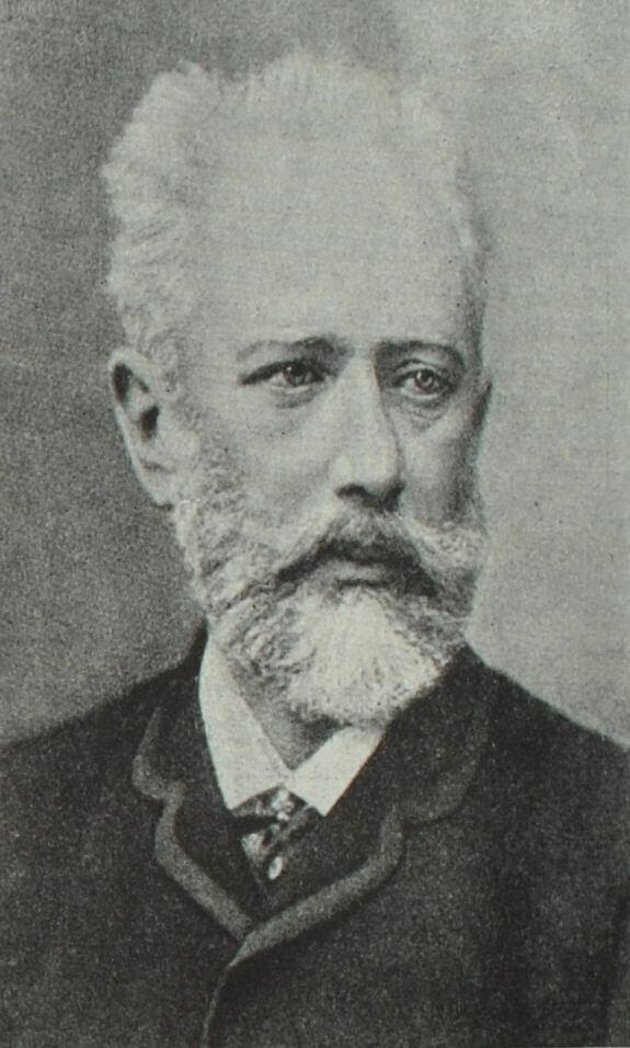 Петр Ильич Чайковский. Фотография. 1888 г.