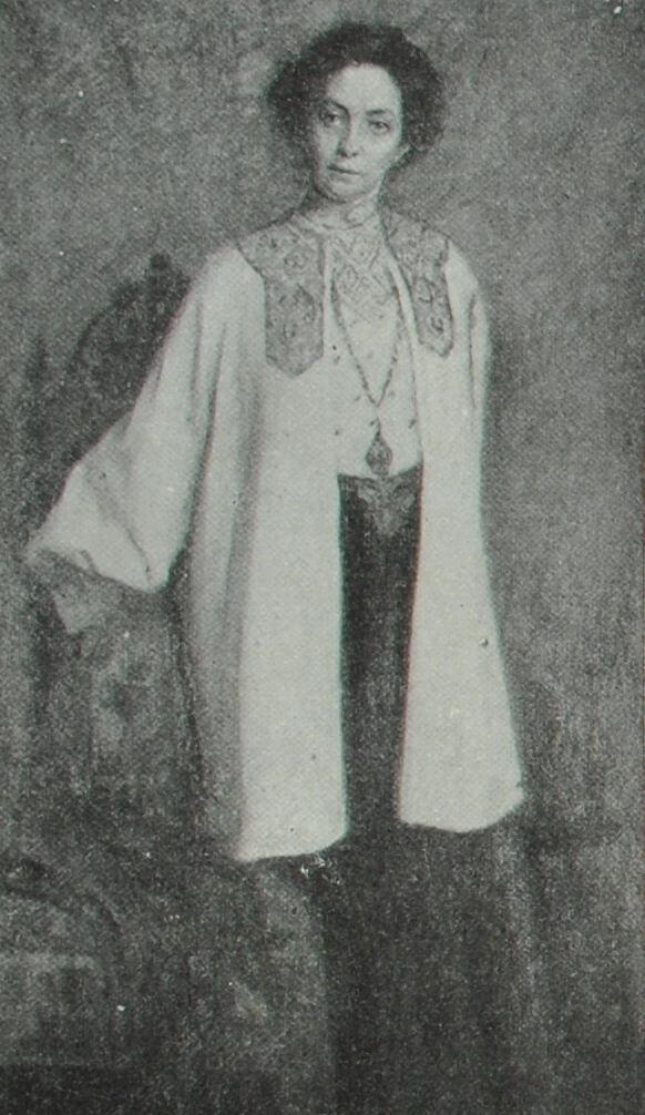 В.Ф. Комиссаржевская. Портрет работы Е.П. Зарудной-Кавос.
